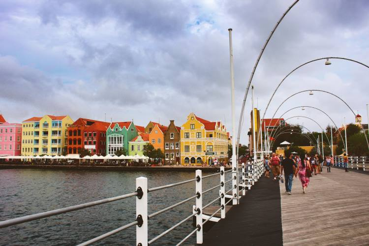 Willemstad - Queen Emma Pontonbridge
