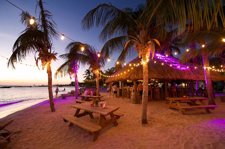 Happy Hour at Chill Beach Bar & Grill