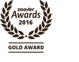Zoover Gold Award 2016